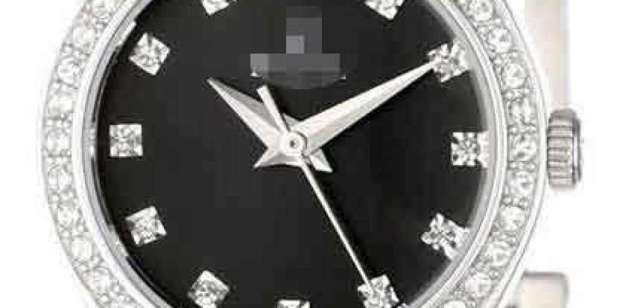 Customize Modernity Black Watch Dial