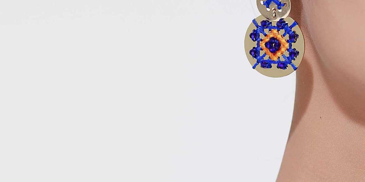 Ethnic Cascade Necklace