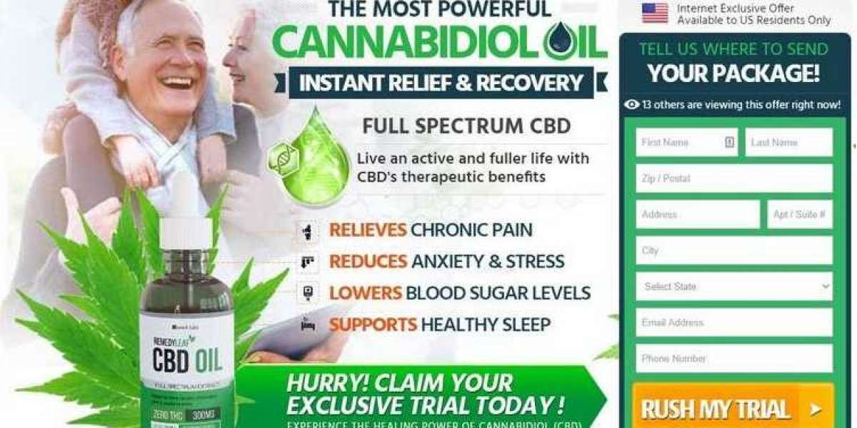 Remedy Leaf CBD Oil United States Benefits, Use Cases and Side Effects