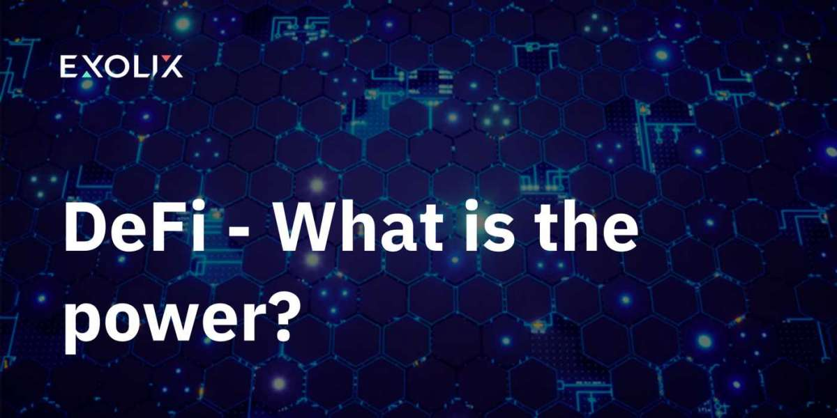 DeFi — what is the power?