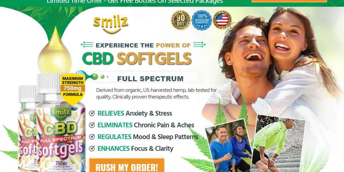 Advance Your Well-Being With Smilz CBD Full Spectrum Softgels!