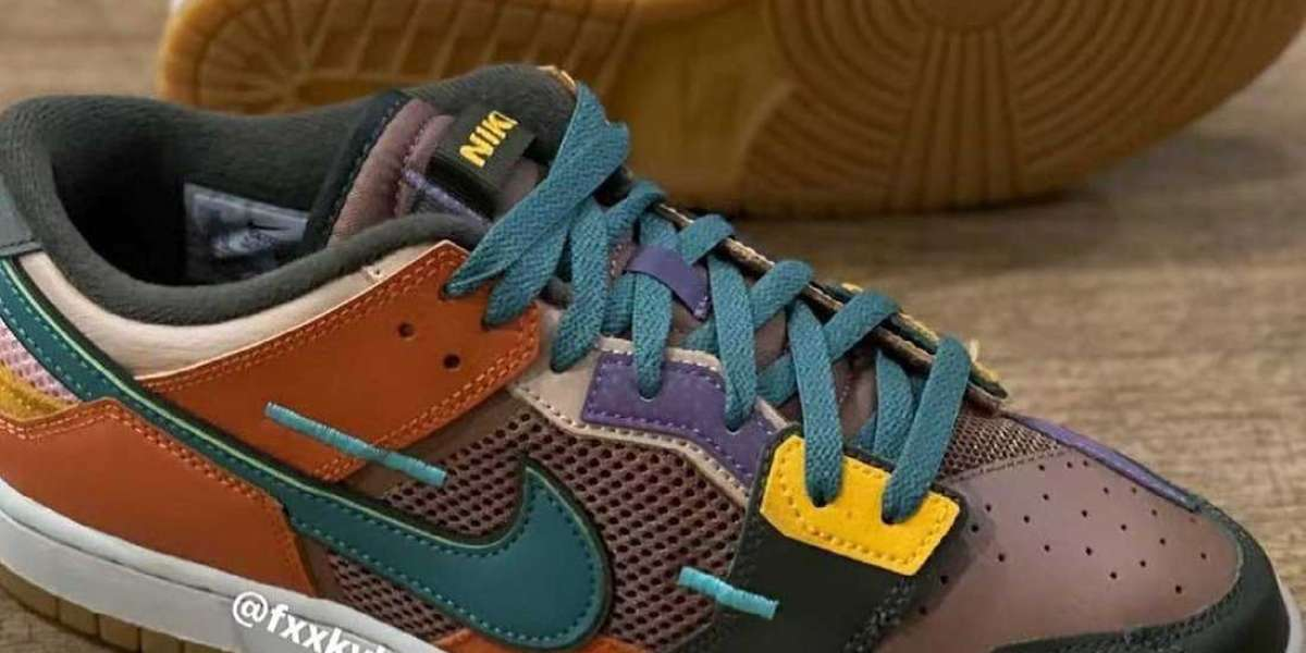 "Brand New Nike Dunk Scrap ""Archeo Brown"" will be released later"