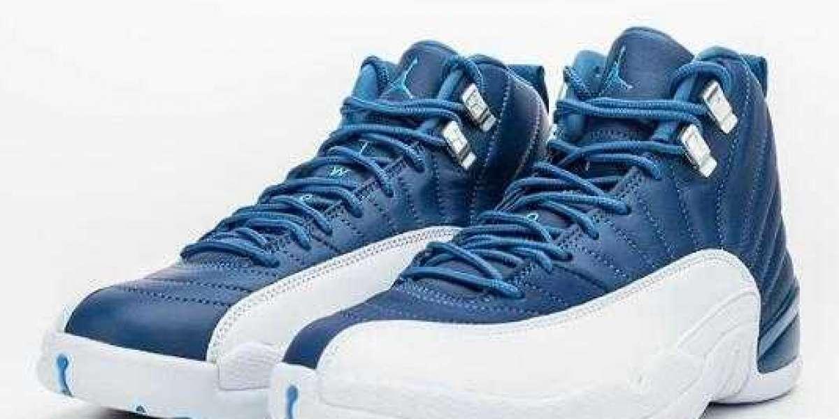 2020 Air Jordan 12 Stone Blue Coming Soon