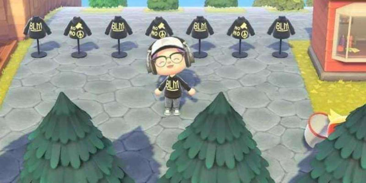 The Black Lives Matter shirts of Animal Crossing