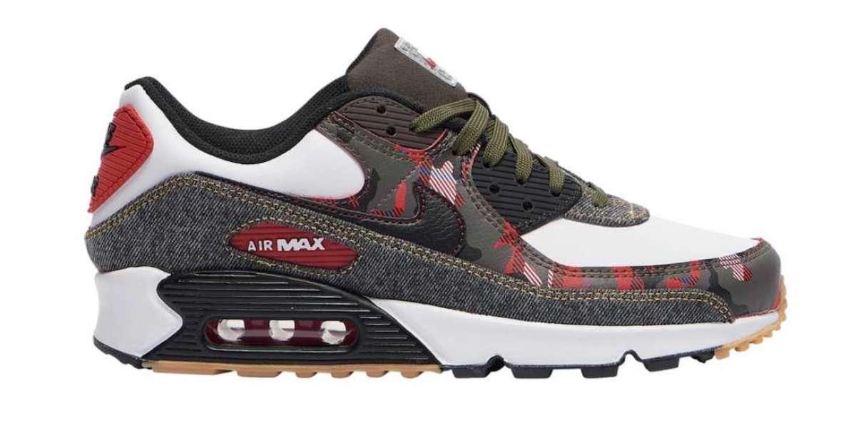 Hot Selling Nike Air Max 90 Camo Denim