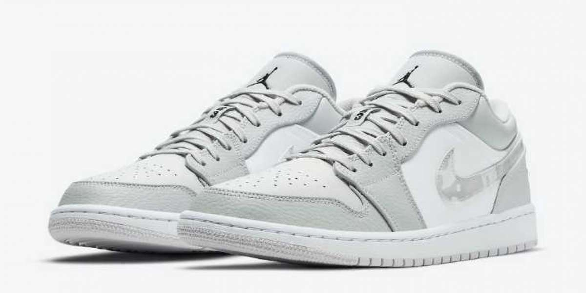 Latest DC9036-100 Air Jordan 1 White Camo Releasing Soon