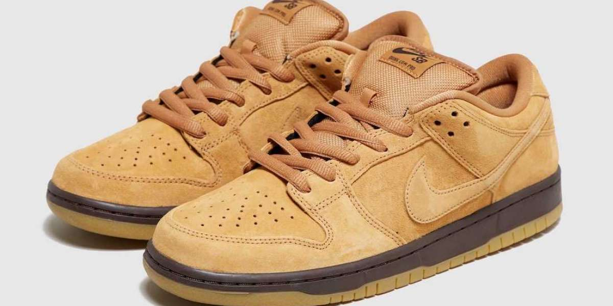"""BQ6817-204 Nike SB Dunk Low Pro """"Wheat Mocha"""" New Release Date"""