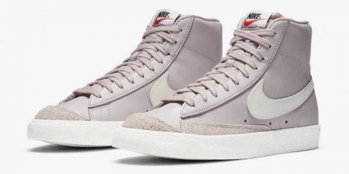New Brand Nike Blazer Mid '77 WMNS Platinum Violet is Available Now