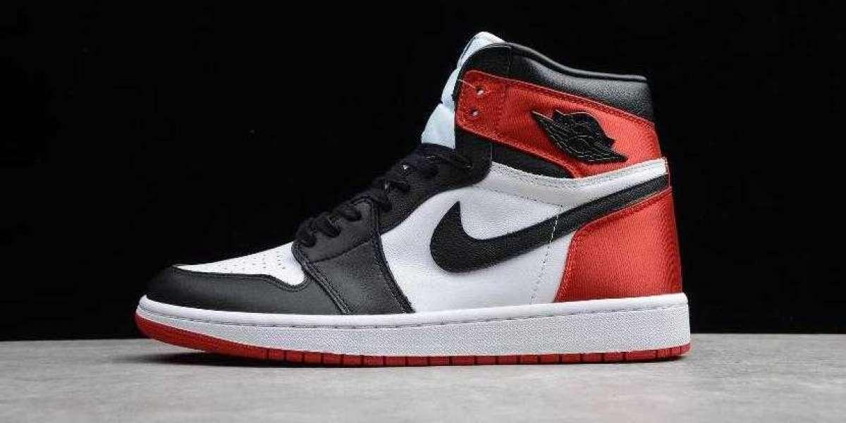 Hottes Air Jordan 1 High OG Satin Black Toe for Cheap Sale