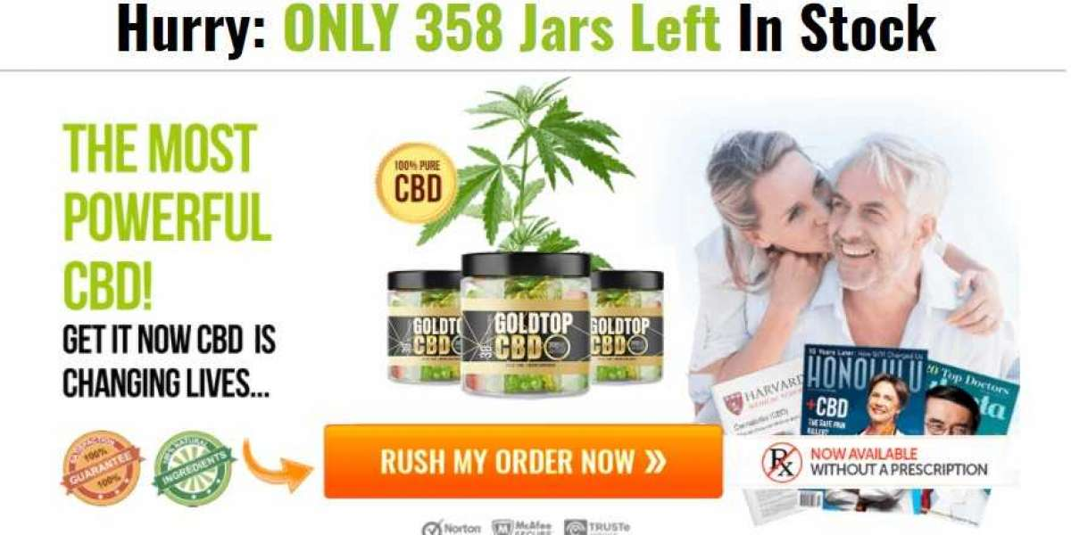 Gold Top CBD Gummies– Reduce Stress, Depression & Pain Naturally!