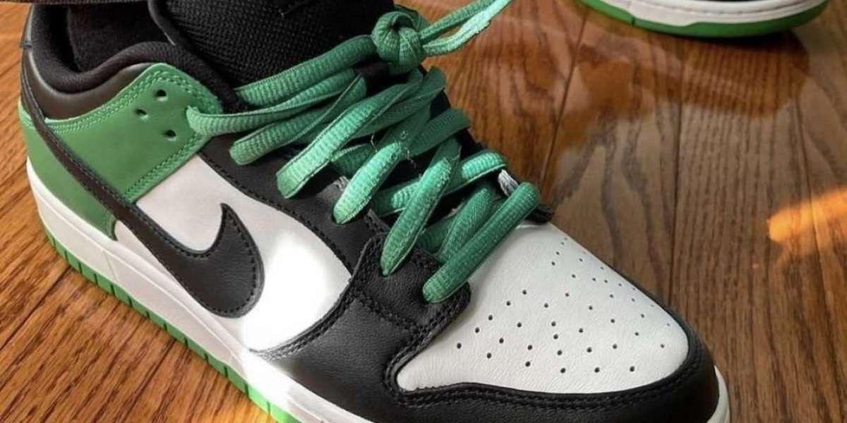 "BQ6817-302 Nike SB Dunk Low ""Classic Green"" Release Information"