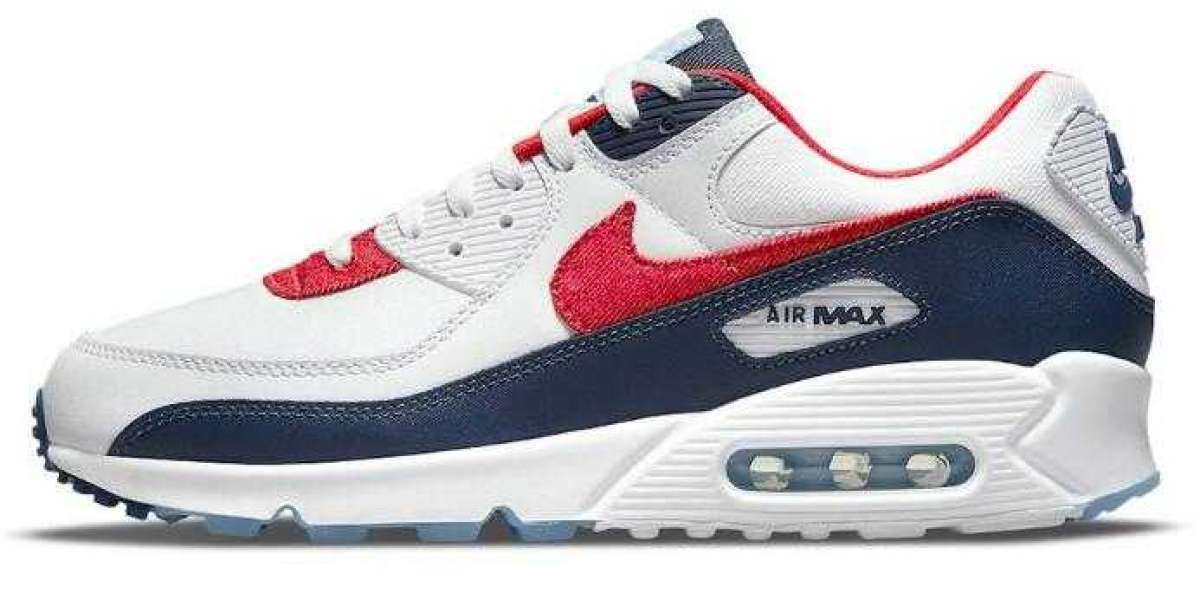 Nike Air Max 90 Releasing With USA Denim for the Fourth of July