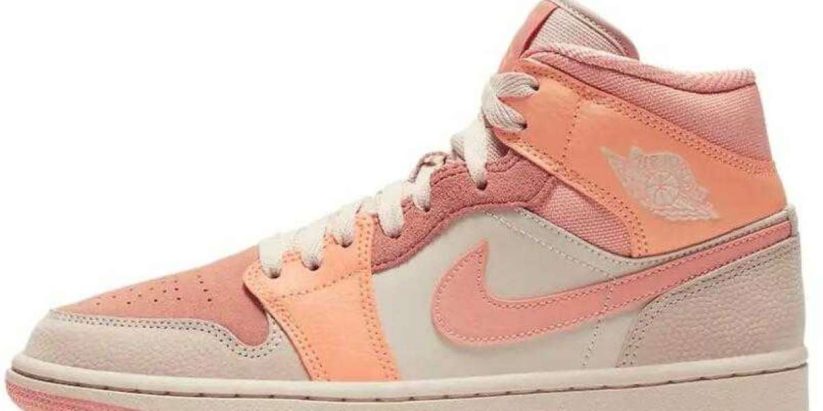 Are you ready to cop the Air Jordan 1 Mid Apricot Orange ?
