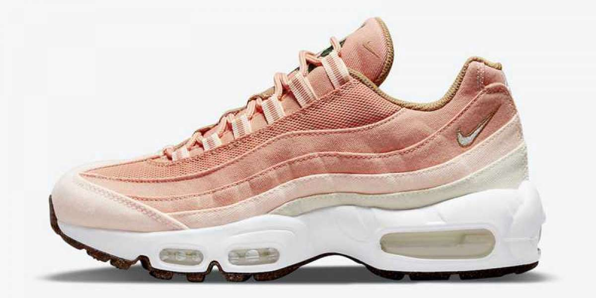 """How to buy Nike Air Max 95 """"Cork"""" Pink CZ2275-800?"""