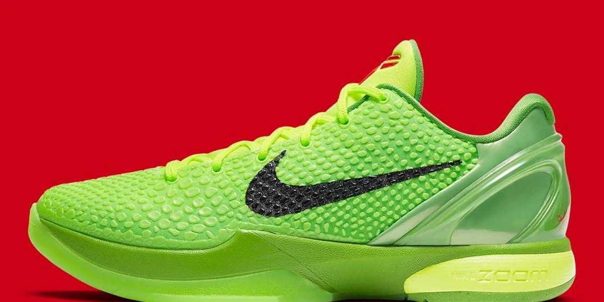 "2021 Hot Sale Nike Zoom Kobe 6 Protro ""Grinch"" CW2190-300"