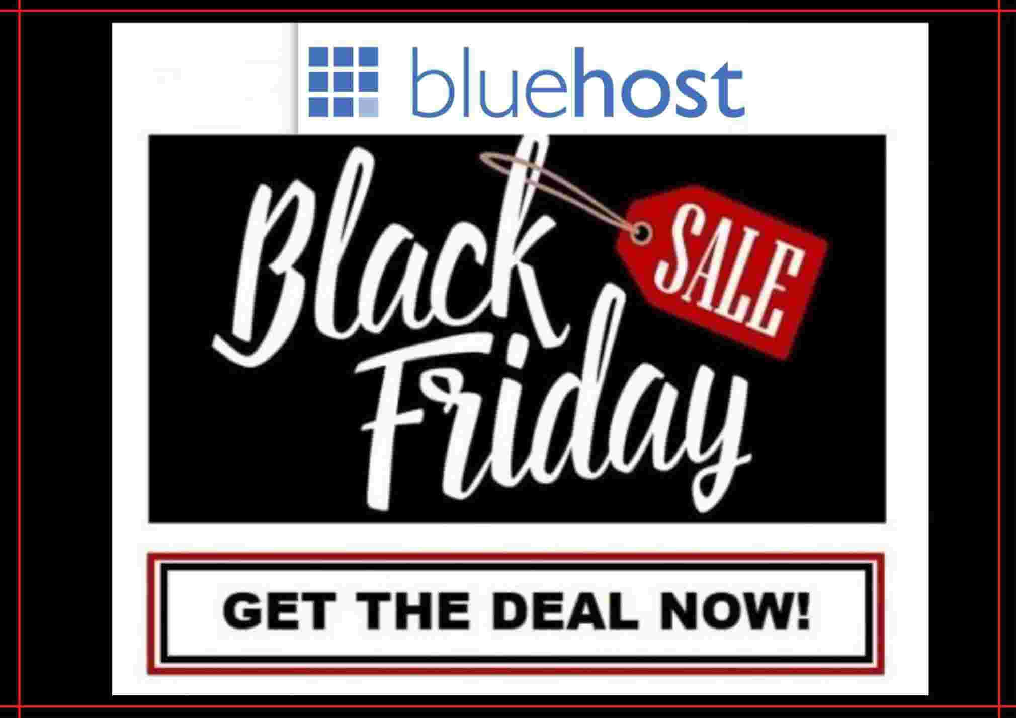 BlueHost Black Friday Sale September 14, 2021, Hosting Discount & Deals