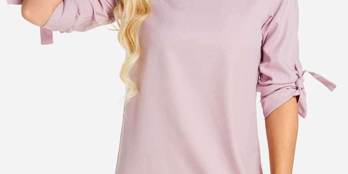 Stripe Short Sleeve Causal Style T-Shirts