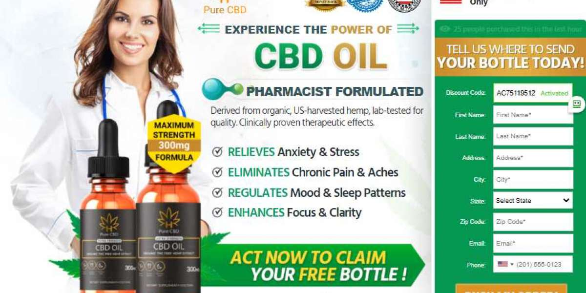 Pure CBD Oil Extra Strength Reviews, Ingredients, Side Effects, Benefits, Working, Price & Buy!