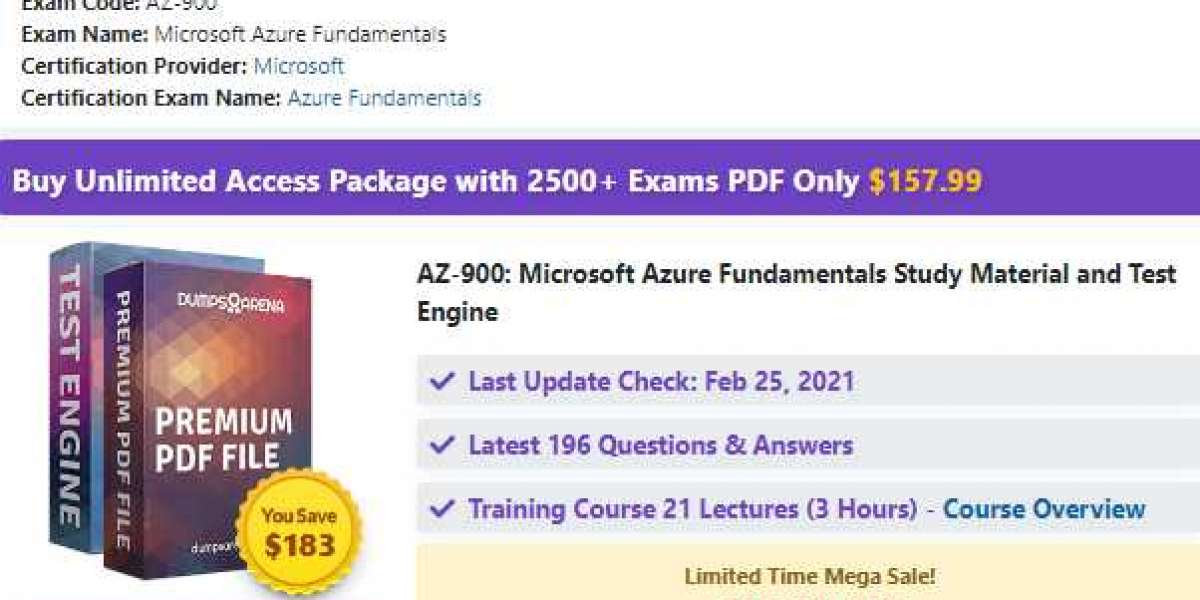 Ace Microsoft AZ-900 Certification with Actual Questions ...