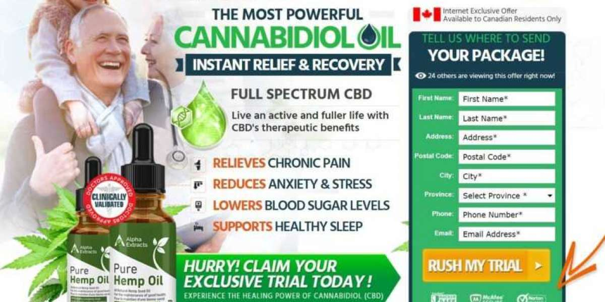 Alpha Extracts CBD Oil  CANADA – Relieves Stress, Pain & Discomfort Easily!