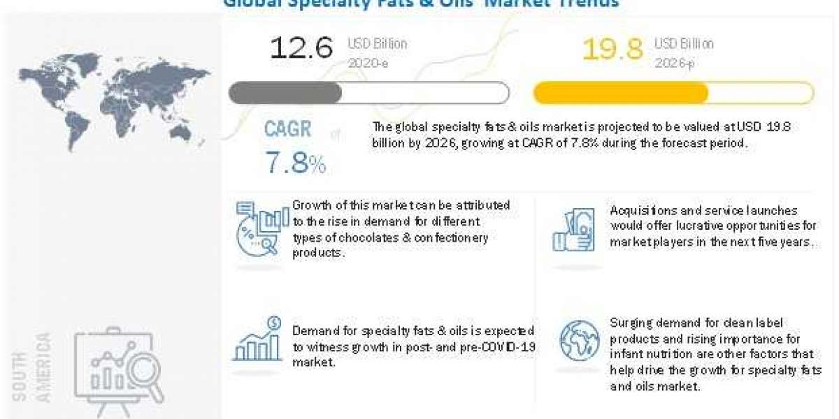 Specialty Fats & Oils Market - Emerging Innovations Expected to Boost the Global Revenue