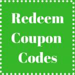 Redeem Coupon Codes